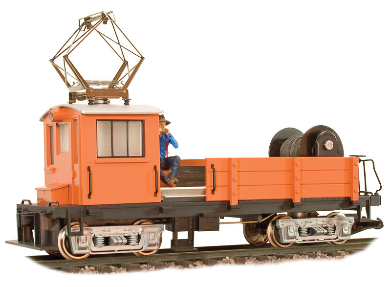 Line Car - Undecorated - Orange