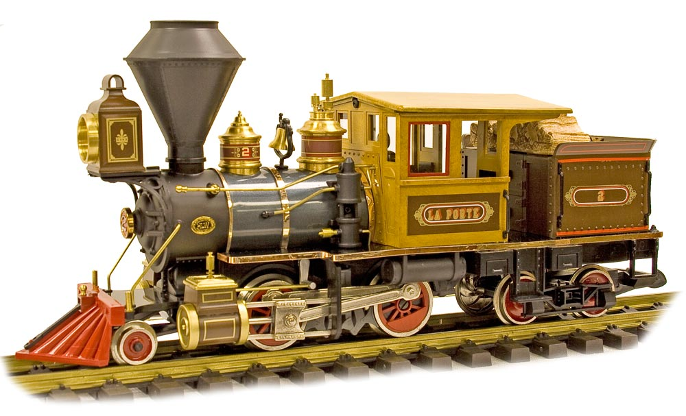 Laporte -- 2-4-4 G-Scale Forney Locomotive