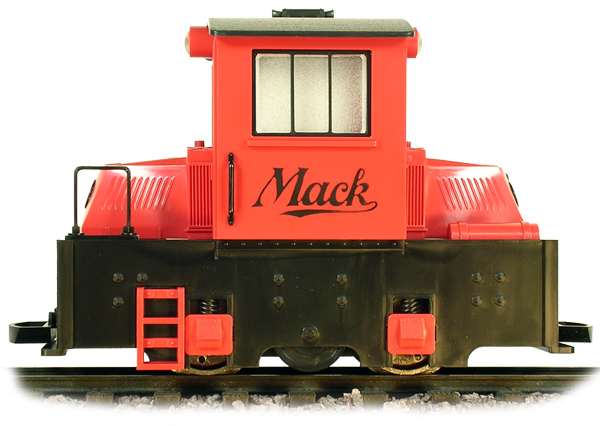 Switch Engine Mighty Mack - Red