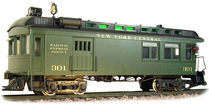 Rail Motor Car - NYC Green